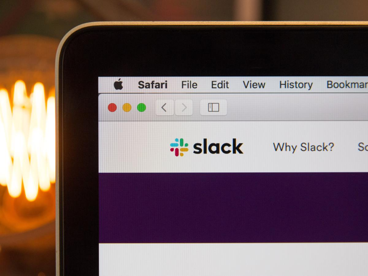 Slack website image